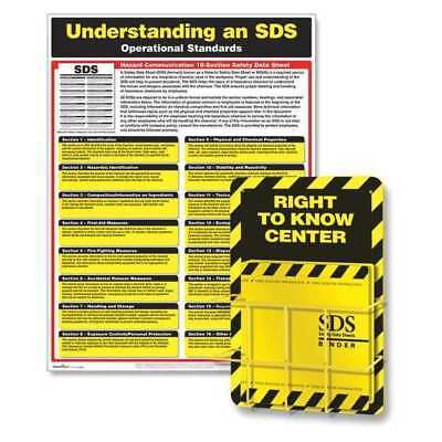 GHS Right to Know Kit,Workplace Safety COMPLYRIGHT N3600