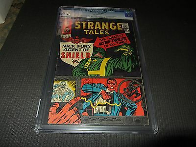 Strange Tales 135 CGC 6.5, 1st Nick Fury Agent of Shield, LMD's (Marvel 1965)