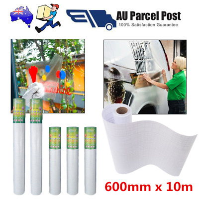 VINYL Sticker Clear Transfer Film Paper Cutter Cutting Plotter  600mm x 10m