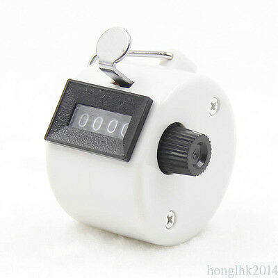 4 Digit Number Manual Handheld Tally Part Counter Golf Stroke Hand Counter