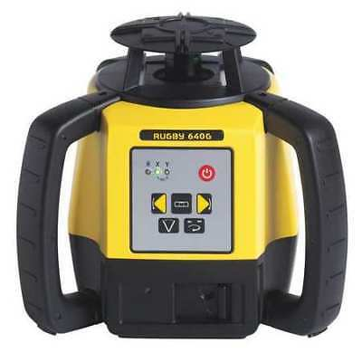 Rotary Laser Level,D-Cell/Li-Ion Battery LEICA RUGBY Rugby 640G