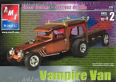 "AMT Vampire Van From The TV Show ""Dark Shadows"" Show Rod #31772 OPEN SEALED IN"