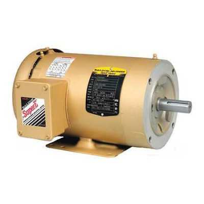 Baldor 1 2 5 hp 3 phase electric motor brand new vm3537 for 2 hp electric motor single phase