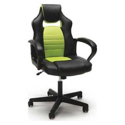 Swell New Essentials By Ofm Racing Style Gaming Chair In Blue Ofm Uwap Interior Chair Design Uwaporg