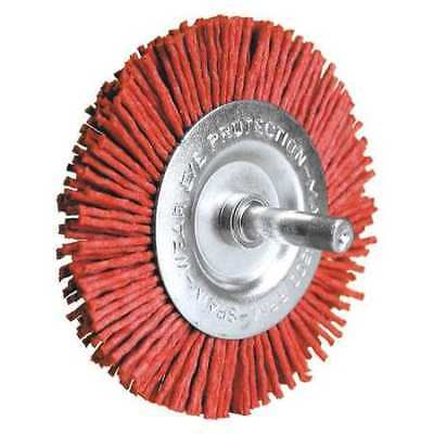 CENTURY DRILL AND TOOL 77431 Radial Brush,Nylon Coarse,80 Grit,3 in.