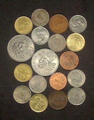 Selection of coins from Singapore (40g)