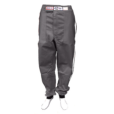 Racing Suit Pants Fire Suit Sfi 1 Gray Adult Xl  Extra Large  Sfi 3-2A/1   Rjs