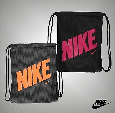 Unisex Genuine Nike Lightweight Durable Graphic Gymsack Bag Size W36 x H44 cm