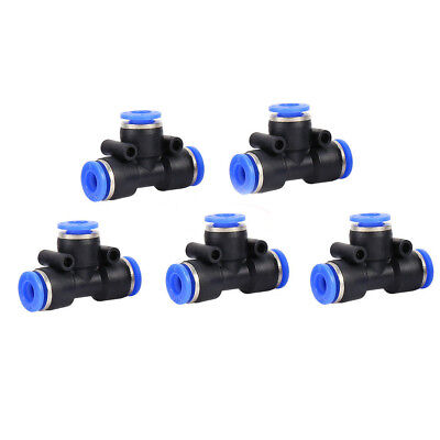 Fittings Push In Air Water Pneumatic Joiner Hot 8 Types Hose Tube Pipe Connector