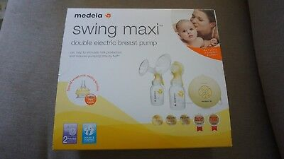 Medela Swing Maxi Double Electric Breast pump + Bonus. Contact for Delivery Opti