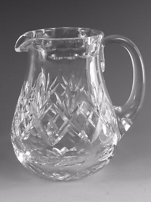 "Royal DOULTON Crystal - GEORGIAN Cut - Water Jug / Jugs - 5 1/2"" (2nd)"