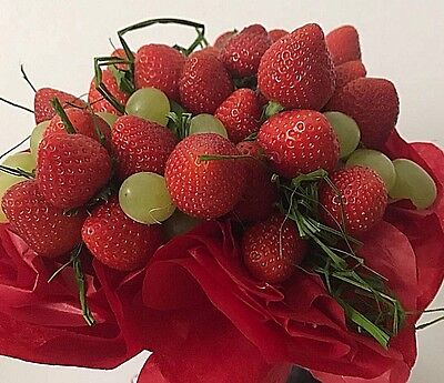 FLOWER BOUQUET Fresh Friuts Arrangement CELEBRATION PRESENT ALL OCCASION GIFT