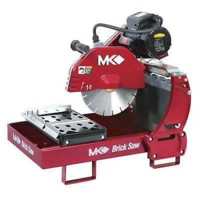 "MK DIAMOND PRODUCTS 161195 Brick Saw,14"",1-1/2 HP"