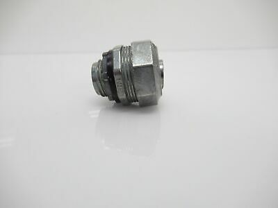 """Electrical Fitting And Piping Connector Sealtight Straight 1/2"""" (New No Box)"""