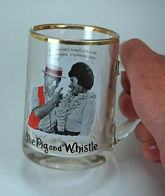 """Vintage """"Pig and Whistle"""" TV Show Beer Mug CTV Television Network Canada 1960's"""