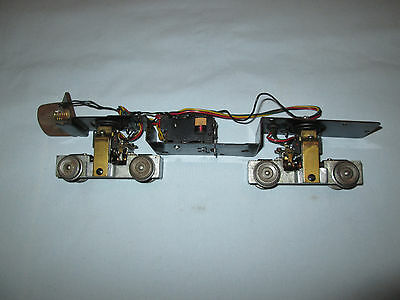American Flyer Diesel Locomotive PA Chassis/Frame with Dual Motors- Runs Well