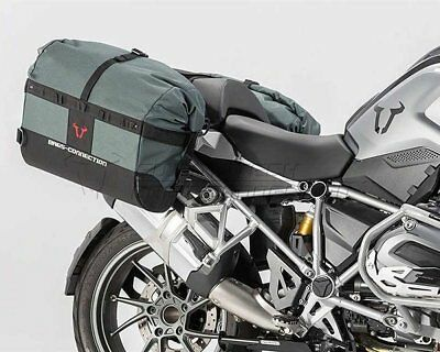 Saddlebag Set Dakar nero. BMW R 1200 GS (13-).
