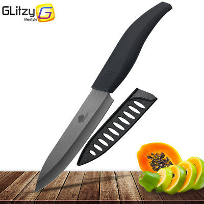 6 inch 5 inch 4 inch 3 inch Ceramic Knife Black Blade Anti-Slip Colorful knives