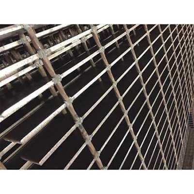 DIRECT METALS 21125S100-C2 Bar Grating,Smooth,36in.W x 2.0in.H
