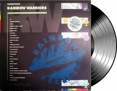 2 Lp Vinilo Various Rainbow Warriors Compilation Gatefold Made In Uk Europe 1989