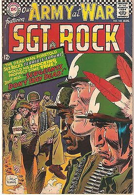 Our Army at War #183 (Aug 1967, DC)