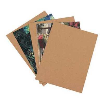 "PARTNERS BRAND CP1010 Chipboard Pads,10""x10"",Kraft,PK800"