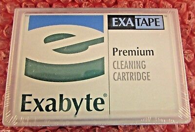 NEW SEALED Exabyte Premium 8mm Cleaning Cartridge Tape for VXA Drives 309258