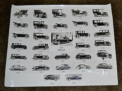 VTG 1949 General Motors File Photo Cadillac 2573-1 N