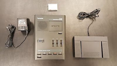 Olympus Pearlcorder T1000 Microcassette Transcriber w/ Accessories