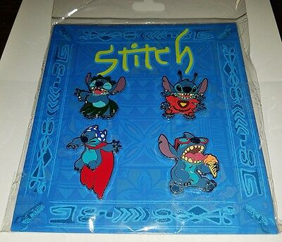 Disney Pins Stitch Booster Set ~ NEW ~ Authentic ~ FREE SHIP