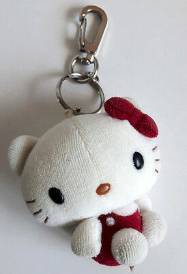 Official Hello Kitty Plush Toy 6cm Keyring