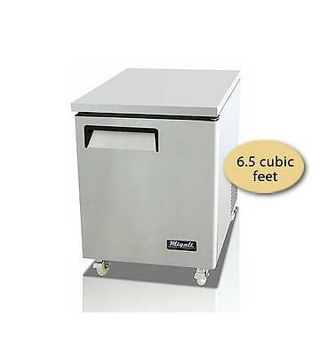 "NEW! Migali 27"" Solid Door Undercounter Freezer C-U27F / FREE SHIP"