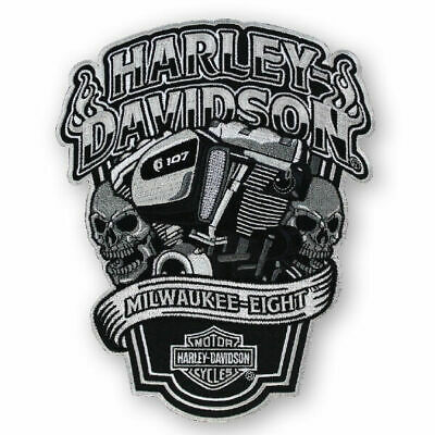 "Harley-davidson Patches EM1029882 Petit Emblème /"" Hubcap /"" Patch Willi G"