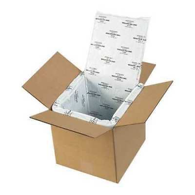 """PARTNERS BRAND 177CSL Deluxe Insulated Box Liners,8""""x8""""x8"""",White,PK5"""