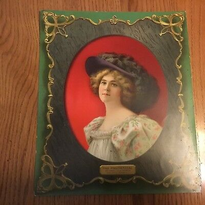 "1902 Prudential Insurance Co Calendar Ad Front picture, Back  Calendar 10"" x 12"""