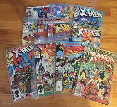 X-Men Lot Of 12