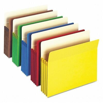 "SMEAD 73890 Pocket Folder, 5.25"", Assorted, PK25"