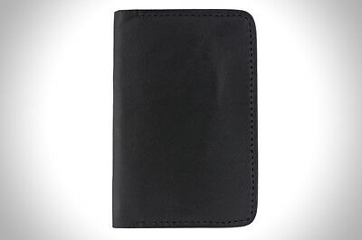 Handmade Leather Notebook Cover - Black