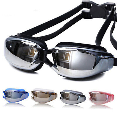 Professional Waterproof Anti-Fog Glasses UV Protection HD Swimming Goggles KF