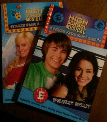 High School Musical Books (2 and 5)