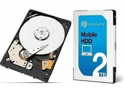 "2 To Seagate HDD 2,5"" 128 Mo 7mm - ST2000LM007 - Disque Dur - Compatible PS4"
