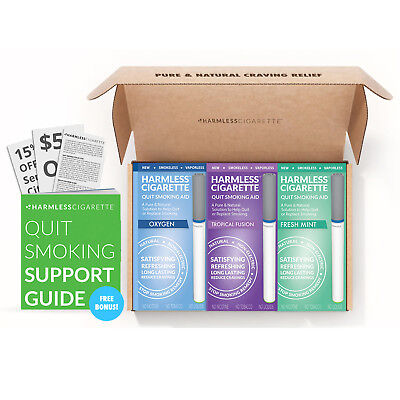 Quit Smoking & Stop Smoking Replacement / 100% Nicotine Free +Support Guide.