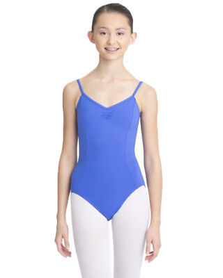 Transition Blue Camisole Pinch Leotard Size XS