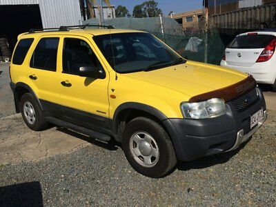 2001 Ford Escape Yellow Automatic A Wagon