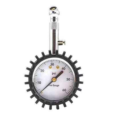 Car Tire Pressure Gauge (60 PSI) Accurate for Drive Auto Products Flexible