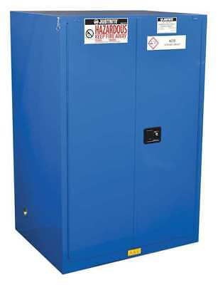 Haz Material Safety Cabinet,90 Gal,Blue