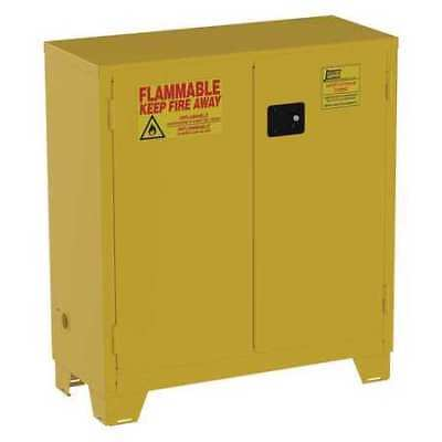 Flammable Safety Cabinet,30 Gal.,Yellow JAMCO FS30YP