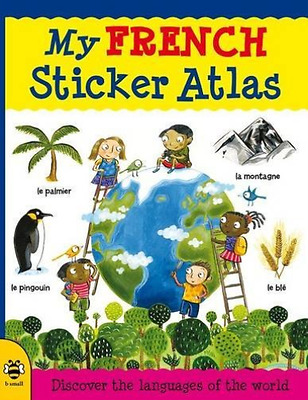 Bruzzone, C-My French Sticker Atlas  Book New