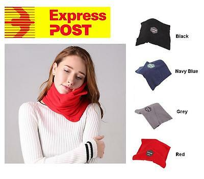Airplane Soft Comfortable Travel Neck Pillow- Free Express Post Shipping