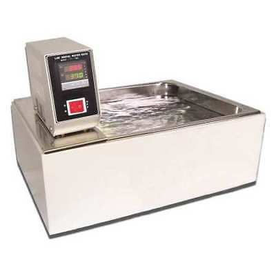 Water Bath,10L,10 in.L x 12 in.W x 6in.H LW SCIENTIFIC WBL-10LC-SSD1